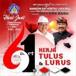 Nangun Sat Kerthi Loka Bali - Kerja Tulus & Lurus