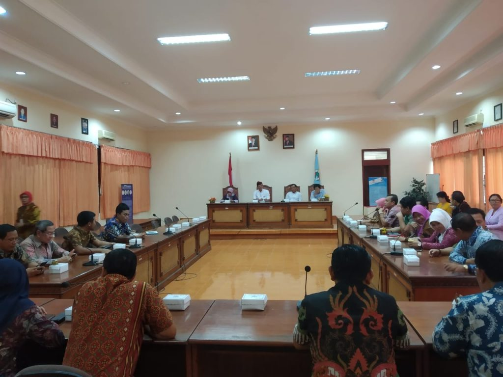 Kunjungan kerja / study banding Dewan Perwakilan Rakyat ...